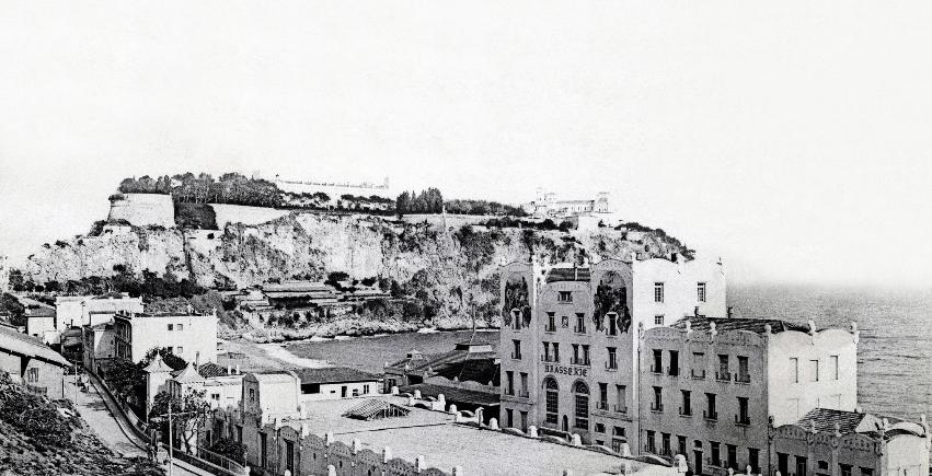 Photo brewery of monaco in 1905