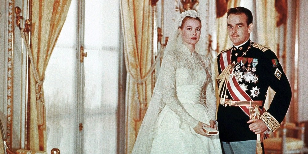 wedding grace kelly and prince reynier of monaco